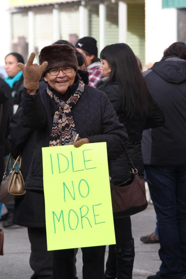 Barb Idle No More
