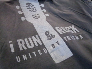 I Run and Rock logo