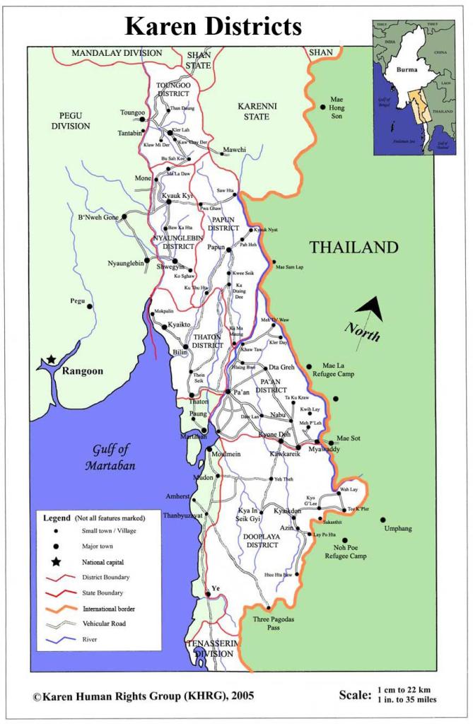Map of Karen State