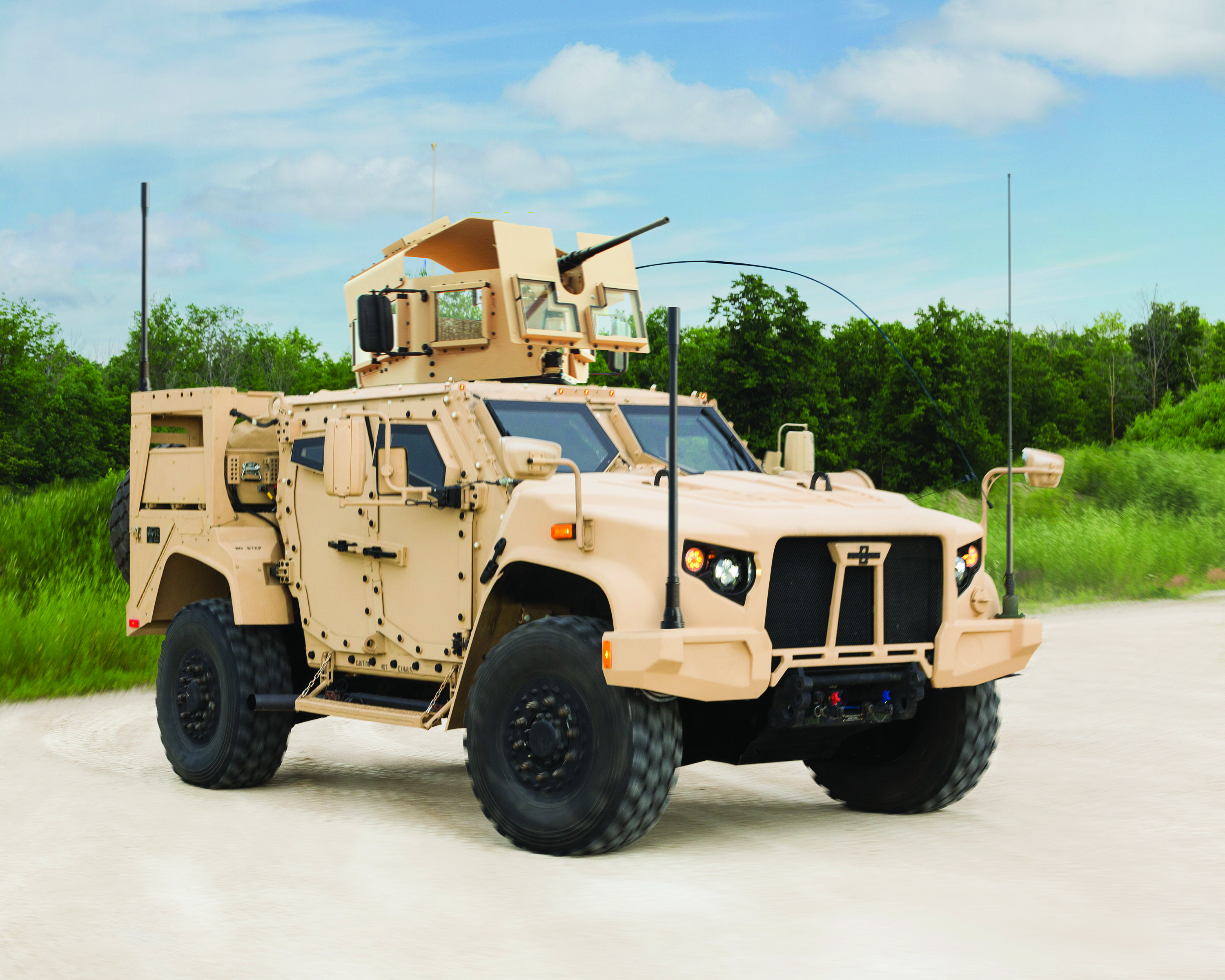 Joint Light Tactical Vehicle. Oshkosh Corp. is building a fleet of vehicles to replace the US military's aging collection of Humvees.