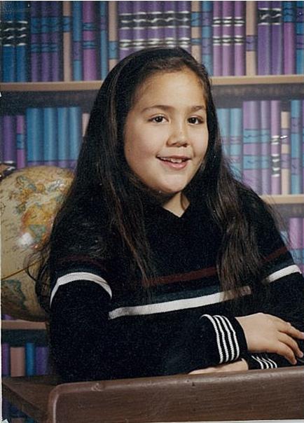 Caceila Trahan age 8 Grade 3