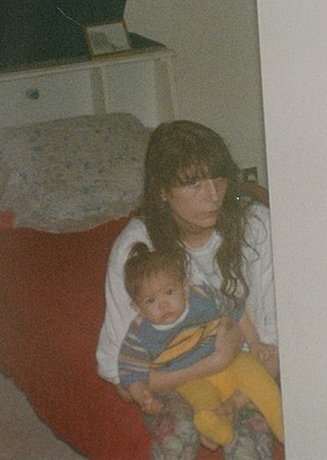 The only photograph of Caceila and her mom, Glenda, in Caceila's possession.