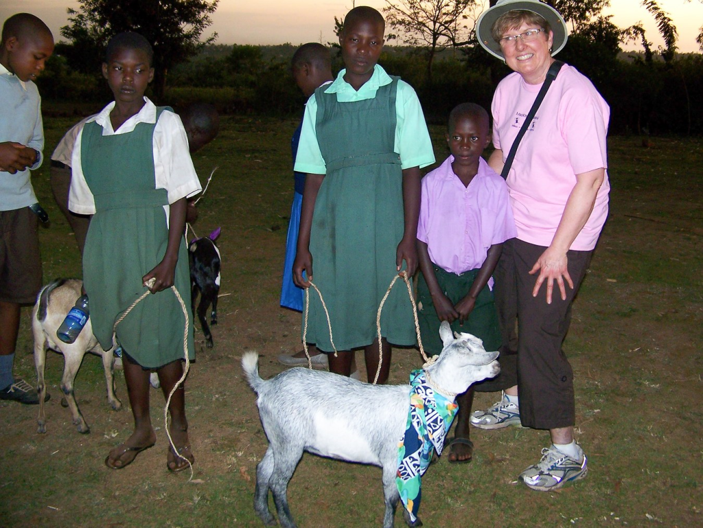 Gifts of goats, Ndhiwa Africa. Photo courtesy of Holly Wicket https://hwickett.exposure.co/africa