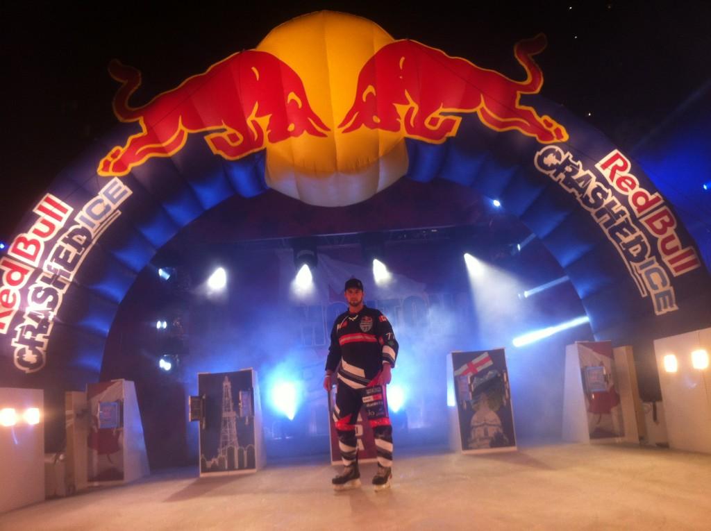 Derreck Coccimiglio, Red Bull Crashed Ice