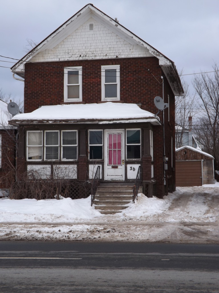 30 Wellington East, Sault Ste. Marie. The place where Wesley would take his last breath.