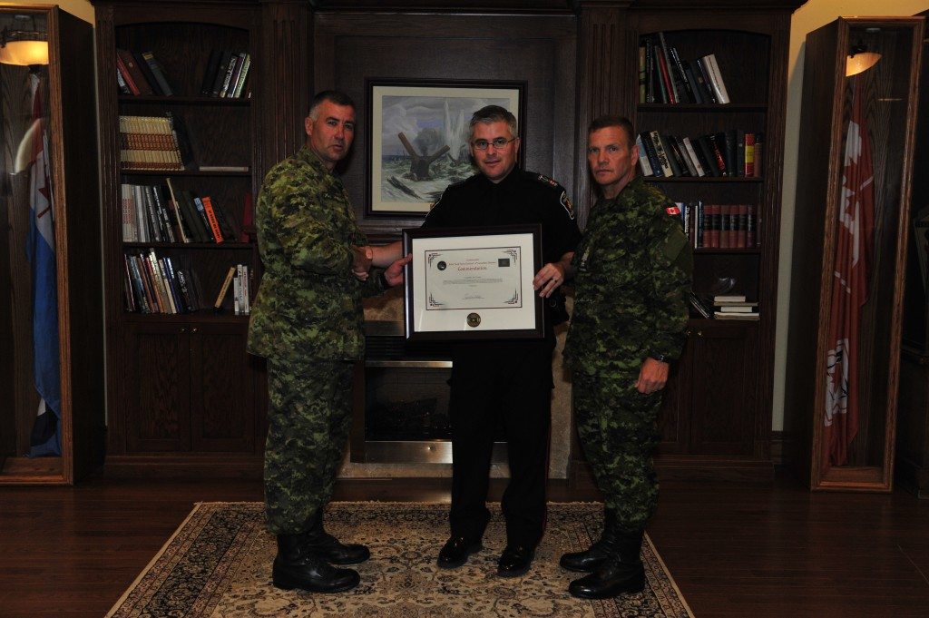 In July 2014, the York Regional Police Crisis Intervention Program was recognized by the Canadian Military with a Generals Accommodation for their efforts focusing on mental wellness and assisting military members. Constable Carson accepted the award.