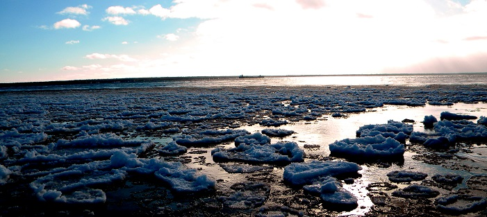 Slush ball ice. Photo Credit: Meaghan Kent