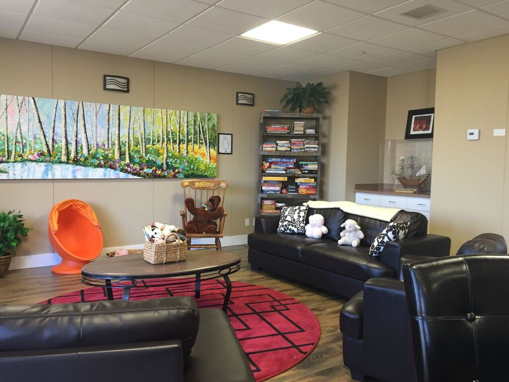 Be Brave Ranch, family lounge