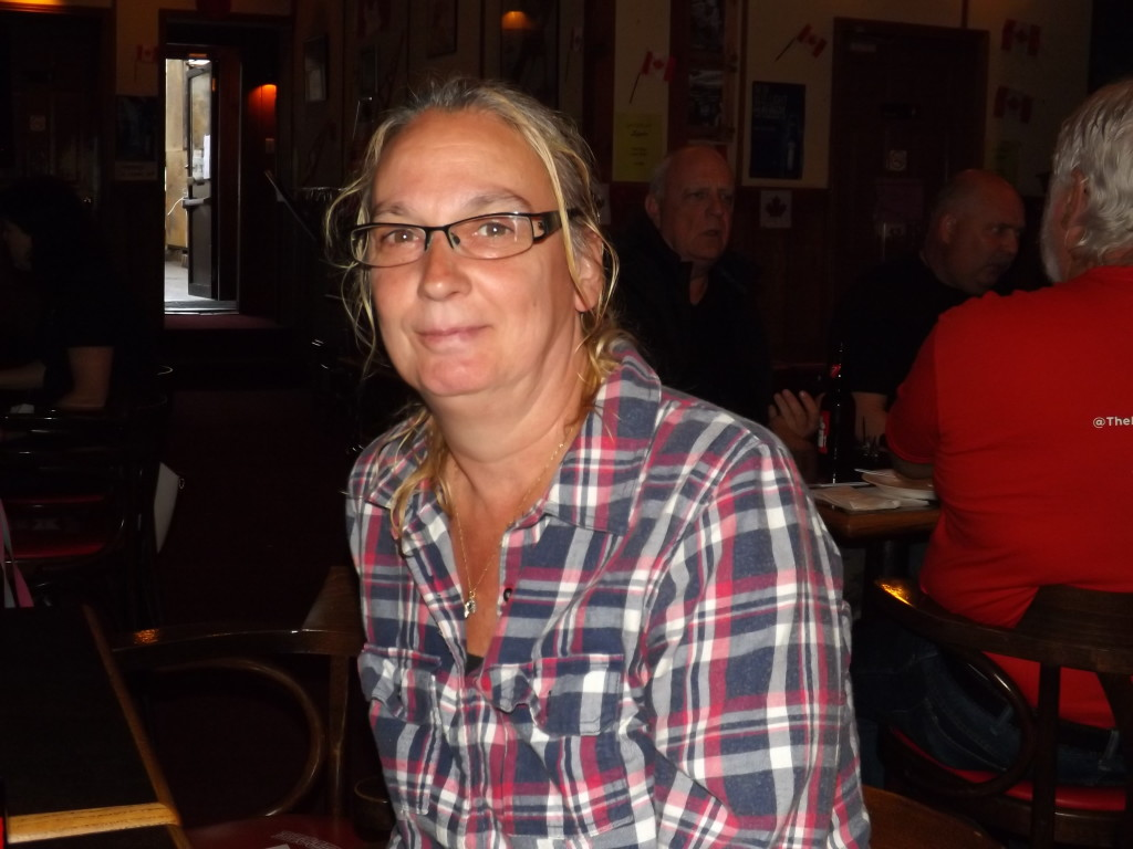 """""""I was here one night last summer, and my friend was looking at something. I thought it was bats. It looked like millions of them!"""" ~ Betty Peiffer, Reggies Tavern Regular"""