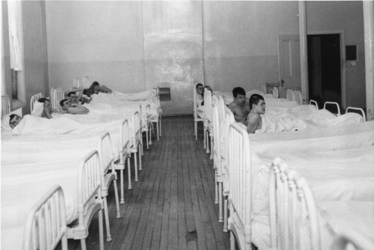 A typical ward at the Ontario Hospital School. Source, Ministry of Community Social Services.