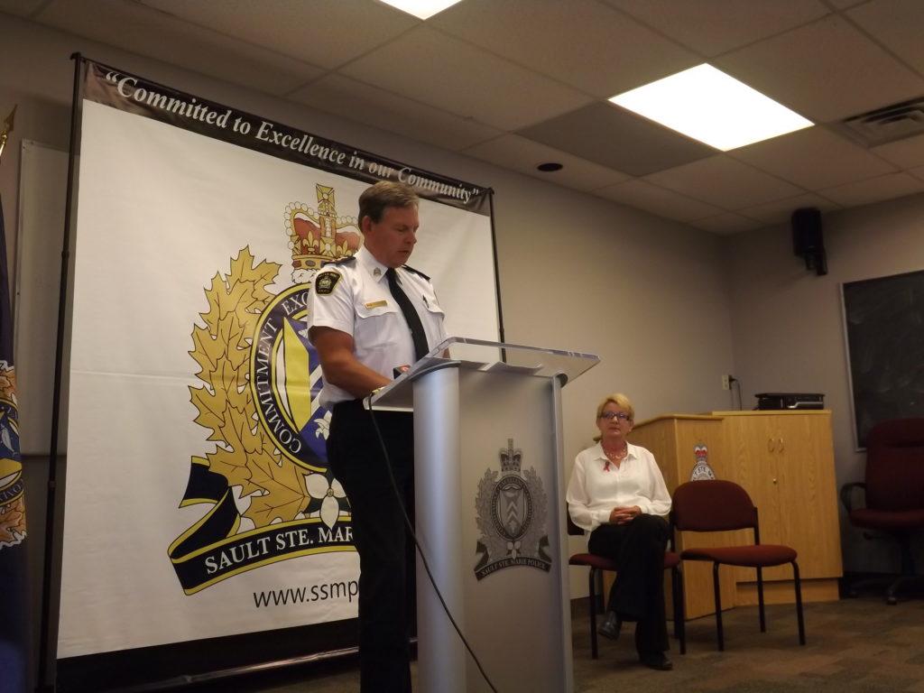 SSM Chief of Police, Bob Keetch