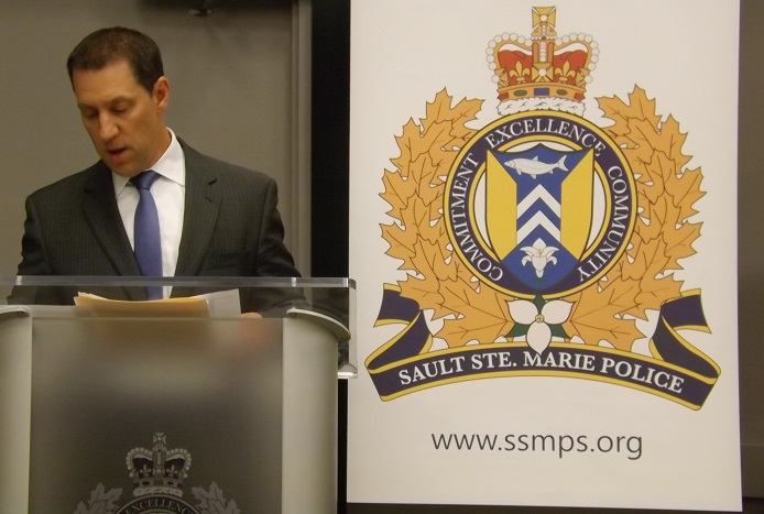 Minister of Safety and Community Services, David Orazietti.