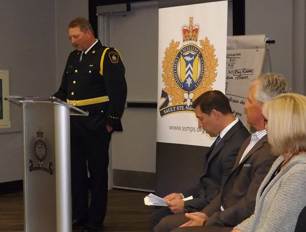 Inspector Mike Kenopic, Sault Ste. Marie Police Services